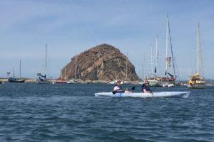 Kayaking in Morro Bay Estuary