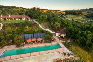 Grounds - Bocce, Pool and Main Hacienda